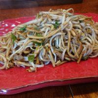 博多区西月隈「バソキ屋」日田焼きそば系のパリパリ食感が美味しい♪