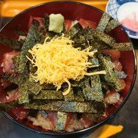 博多区麦野「那香野ずし」ロープライス600円からのマグロ丼で安い美味い!!
