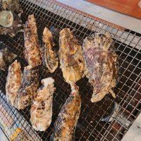 糸島市「豊漁丸」船越漁港のカキ小屋で旬の焼き牡蠣を満喫♪