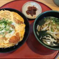筑紫野市「山岐庵」こういう定食うどん屋さん見たら入りたくなっちゃうよね、のやつ(笑)
