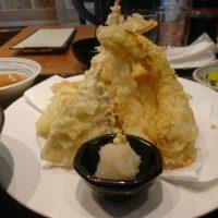 糟屋郡志免町の「海鮮居酒屋 一八」ランチの天ぷら定食を食べました♪