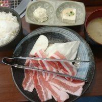 大野城市の焼肉食家(たべようや)なんと500円の焼肉ランチが☆