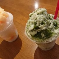 筑紫野市「パティスリー テテ」ケーキ屋さんのかき氷、ウマ~☆